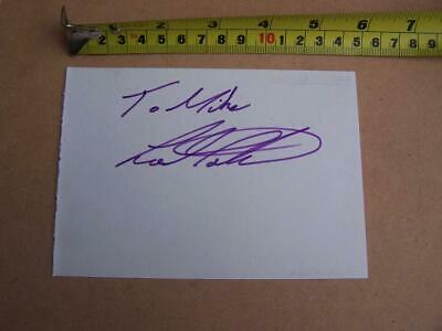 Lee Martin   - Football Autograph (S MA21 ) please scroll down