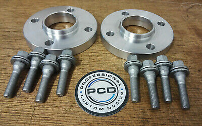 PEUGEOT 207 Hubcentric Spacers 20mm Wide & 8 Wheel Bolts ALLOY WHEELS