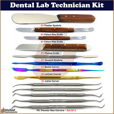 Dental Lab P.k Thomes Carver Wax & Modelling Sculpting Tools For Mixing Material