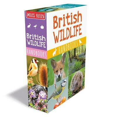 British Wildlife Handbooks 3 Books Collection Set by Camilla de la Bedoyere