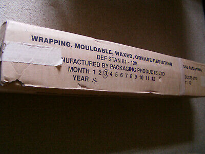 Wrapping, Mouldable, Waxed, Grease Resisting DEF STAN 81-129 Packaging Material