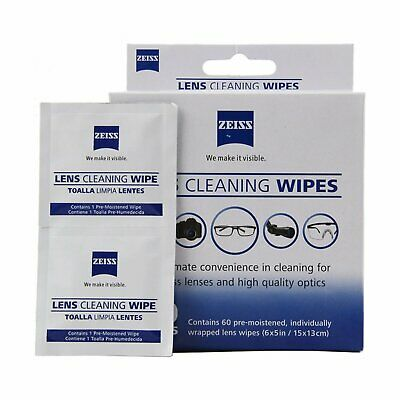 50 Zeiss Pre-Moistened Lens LCD LED Screen Optical Camera Cleaning Cloth Wipes