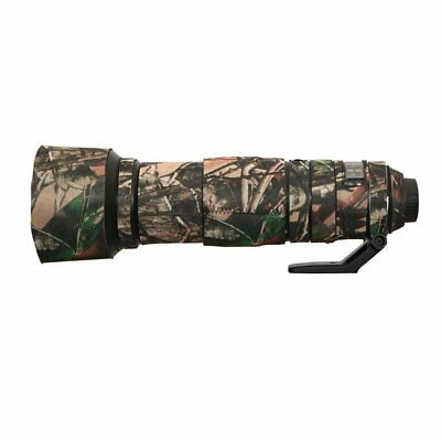 Sigma 500mm f4.5 neoprene lens protection camouflage coat cover English Oak