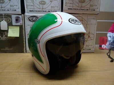 Premier Vintage HE21 size M With Drop Down Sun Visor *FREE Next UK Day Delivery*