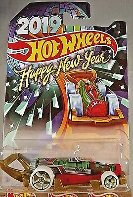 Hot Wheels 2019 Happy New Year Holiday Hot Rods CARBONATOR Wal-Mart Exclusive