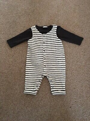 Baby Boy Next Towel Effect Dungarees 0-3 Months