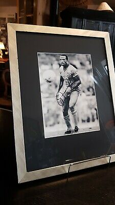 Cyril Regis, Striker, CCFC, Coventry City, 1987 FA Cup, Signed Photo
