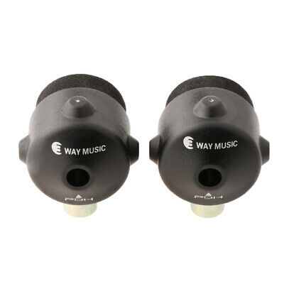 2pcs Quick Release Nut Drum Quick Set Cymbal Mate for Drum Kit