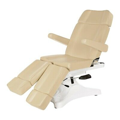 Spa Bed New Beige Treatment Table Chair Electric Beauty Massage Therapy