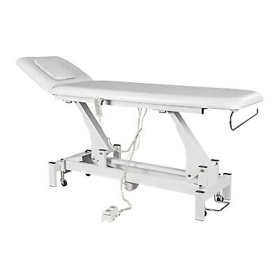 Beauty Therapy Spa Relax Bed Massage Treatment Tattoo Table Pedicure Chair White