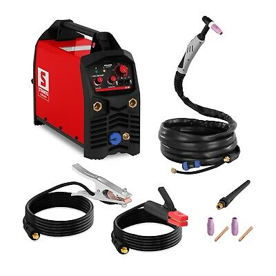 TIG Welder MMA Welding Machine 200 Amp  IGBT Inverter Hot Start Arc Force 2T/4T
