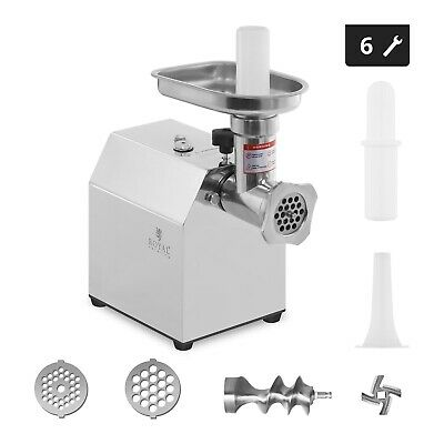 Steel Processor Professional 600 W Mincer Grinder Electric Food Stainless
