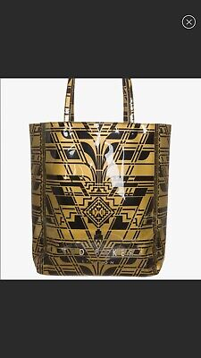 b512b12e0bb259 Ted Baker London NWT Fithcon Large Icon Tote Bag Black And Gold