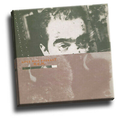 REM - Lifes Rich Pageant Giclee Canvas Album Cover Picture Art