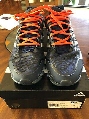 pretty nice 4b5da aa883 Adidas Springblade Razor Men s Running Shoes - Blue Silver Orange - US Size  12