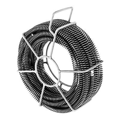 Mechanical Manual Cleaning Easy To Use Cleaning Plumbing Snake Coil Basket