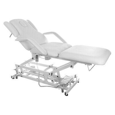 Manicure Chair White Tattoo Table Therapy Bed Massage Treatment Pedicure