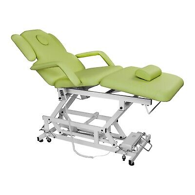 Manicure Chair Light Green Table Therapy Bed Massage Treatment Pedicure