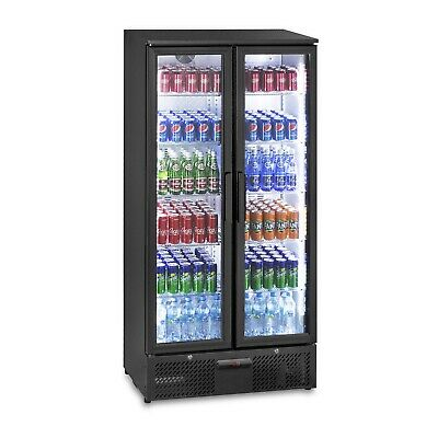 Cooler Glass Door 458L Fridge Drinks Refrigerator Chiller Beverage