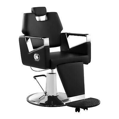 Hairdressing Barber Chair Adjustable Footrest Height And Headrest Salon Chair