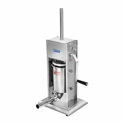 Filling Machine 3L 2-Speed Gearbox Stainless Steel Sausage Maker Sausage