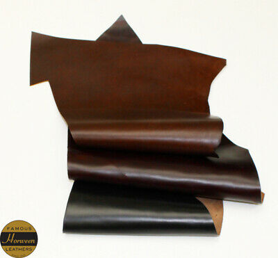 Horween Horse Chromexcel 1.0-1.2 mm Thick Mixed 3 Piece 3.0-3.25 sq ft Remnant