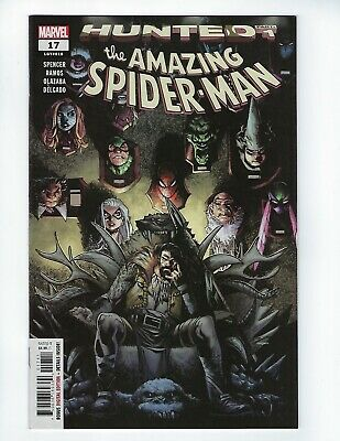 AMAZING SPIDER-MAN # 17 (HUNTED, Main Cover, MAY 2019) NM NEW