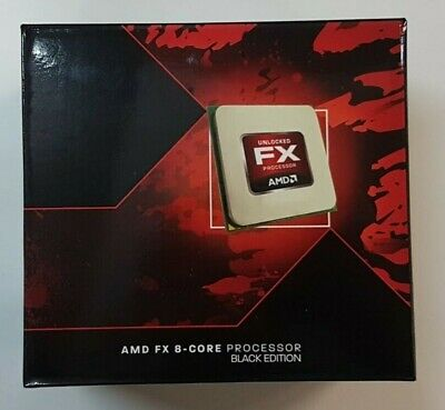 NEUF - Processeur AMD FX 8350 Black Edition AM3+ 4.0 GHz - 4.2 GHz + ventirad