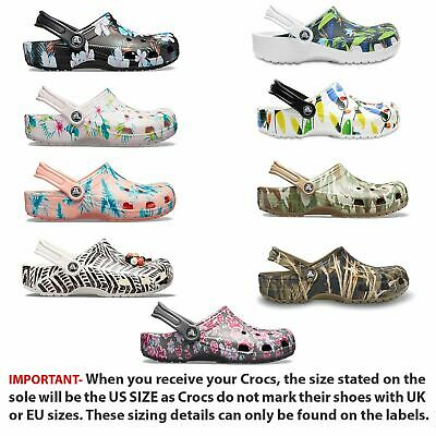 Crocs Classic Tropical IV, Graphic, Holiday & Drew Barrymore Clogs Shoes Sandals