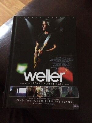 Paul Weller : Live At The Royal Albert Hall 2010 DVD & CD With Postcards In Vgc