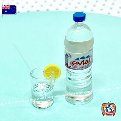 Coles Little Shop 2 fan favourites - Mini Evian Water Set - Miniature 1:12