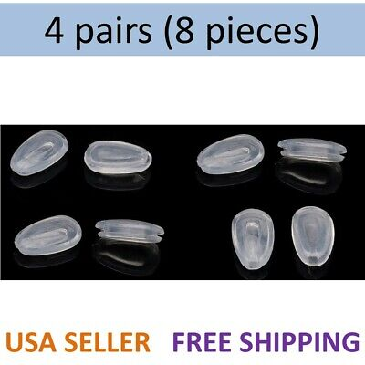 4 Pairs Oakley Replacement Nose Pads Tinfoil Feedback EVR Daisy Chain GIVEN Sun