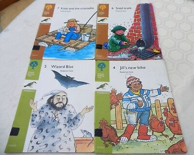 Oxford Reading Tree ORT Stage 7 & 8 Woodpeckers Books x 4
