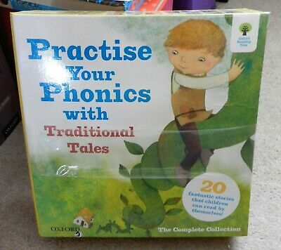 Oxford Reading Tree ORT Practise Your Phonics with Traditional Tales Boxed Set