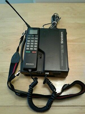 Vintage Shintom Portable Cell Phone System - Model Ct8800 - Powered Up!!