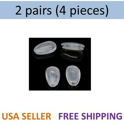2x Oakley Replacement Nose Pads Tinfoil Feedback EVR Daisy Chain GIVEN Sunglass