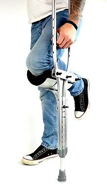 Able Motion Adjustable Ambidextrous Crutch Knee Rest