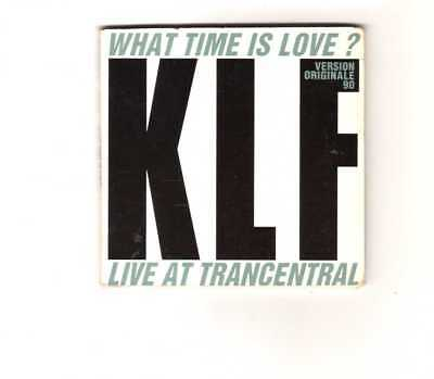 """The KLF - What Time Is Love? (Live At Trancentral 90) - 3"""" CDS 1990 - Techno 3TR"""