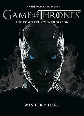 Game of Thrones: season 7  (4 discs dvd set, 8 episodes)