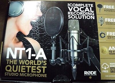 Rode NT1-A Vocal Recording Pack - Ex-Display