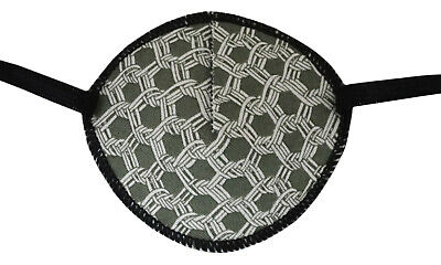 Medical Eye Patch, GREY MESH, Soft and Washable, for right or left eye