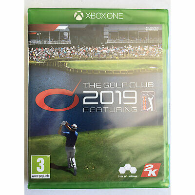 The Golf Club 2019 (Xbox One) Official Licensed PGA Tour - New and Sealed