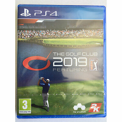 The Golf Club 2019 (PS4) Official Licensed PGA Tour - Brand New and Sealed