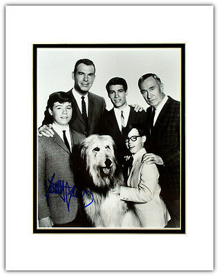 Stanley Livingston My Three Sons Autographed Matted Photo Chip Douglas