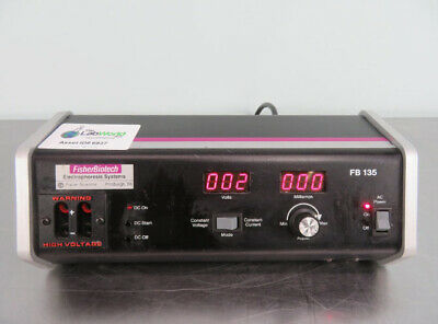 Fisher Electrophoresis Power Source FB135 with Warranty SEE VIDEO