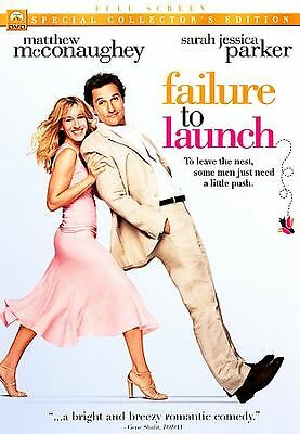 Failure to Launch (DVD, 2006, Full Frame)