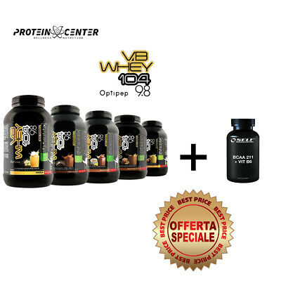 Proteine isolate idrolizzate OPTIPEP VB Whey 104 9.8 900-1980 gr + bcaa 120 cmp