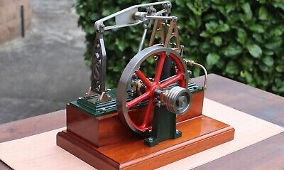 "Live steam quite rare Stuart Turner Half Beam stationary engine. ""Grasshopper""."