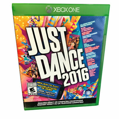 Just Dance 2016 for Microsoft Xbox One, Bilingual, Standard Edition, Used