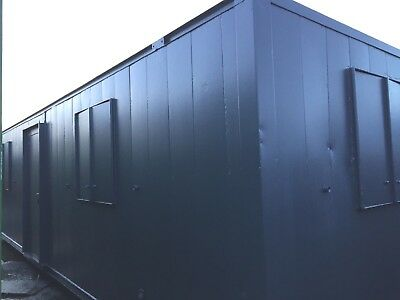 32x10ft Anti Vandal Double Site Office / Portable Building / Site Cabin /